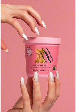 So...? Tame The Mane Hair Mask 200ml, Baby pink rosa