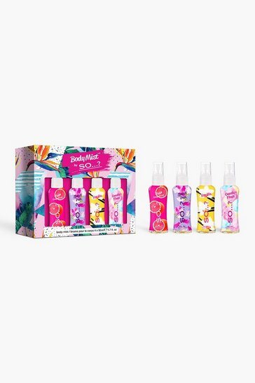 Multi Body Mist By So..? Mini Mist Set 4 X 50ml