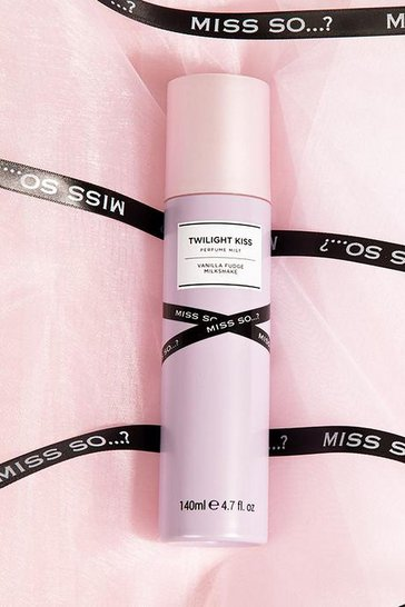 Lilac purple Miss So...? Twilight Kiss Perfume Mist 140ml
