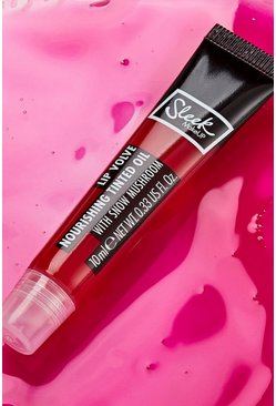 Sleek Makeup Lip Volve Nourishing Oil , Bright pink rosa