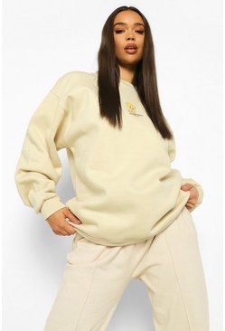 Stone beige Tweety Pie License Sweatshirt