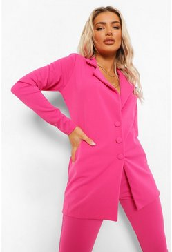 Longline Blazer & Trouser Suit Set