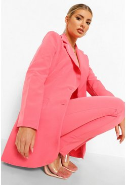 Candy pink pink Tailored Fitted Blazer