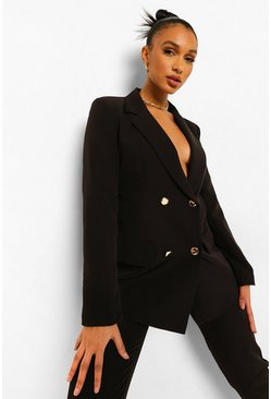 Fitted Blazer & Tailored Trouser Suit Set
