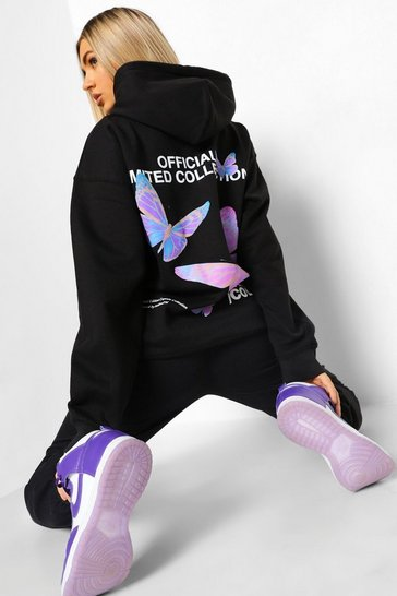 Black Official Collection Butterfly Tracksuit