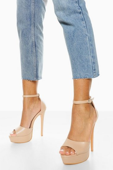 Nude Stiletto Platform