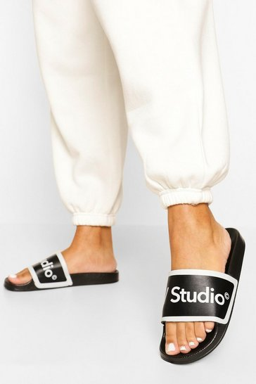 Black W Studio Branded Sliders