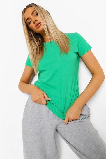 Green Basic T-Shirt