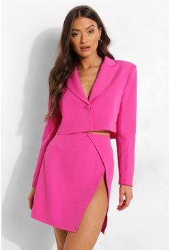 Mix And Match Brights Mini Skirt, Bright pink rosa