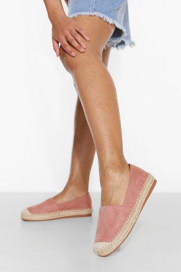 Blush pink Chunky Espadrille