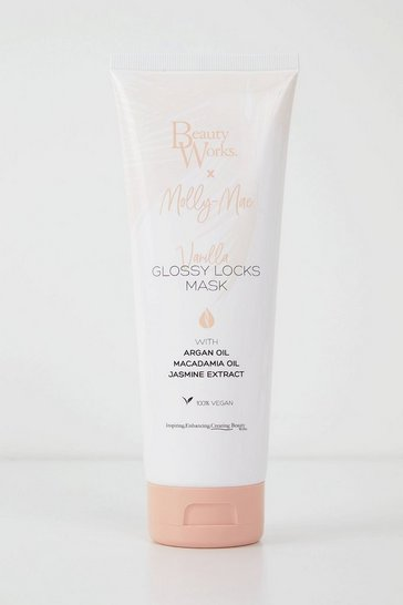 White Beauty Works X Molly Mae Glossy Locks Mask
