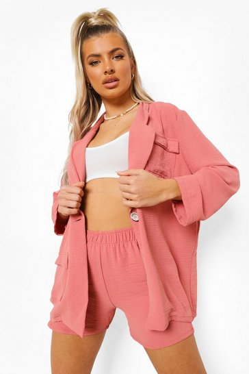 Peach orange Relaxed Fit Shorts