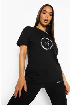 Black Wellness T Shirt