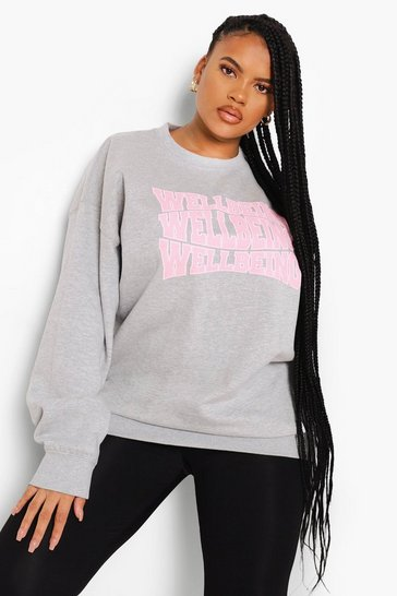 Grey Plus Wellbeing Sweatshirt