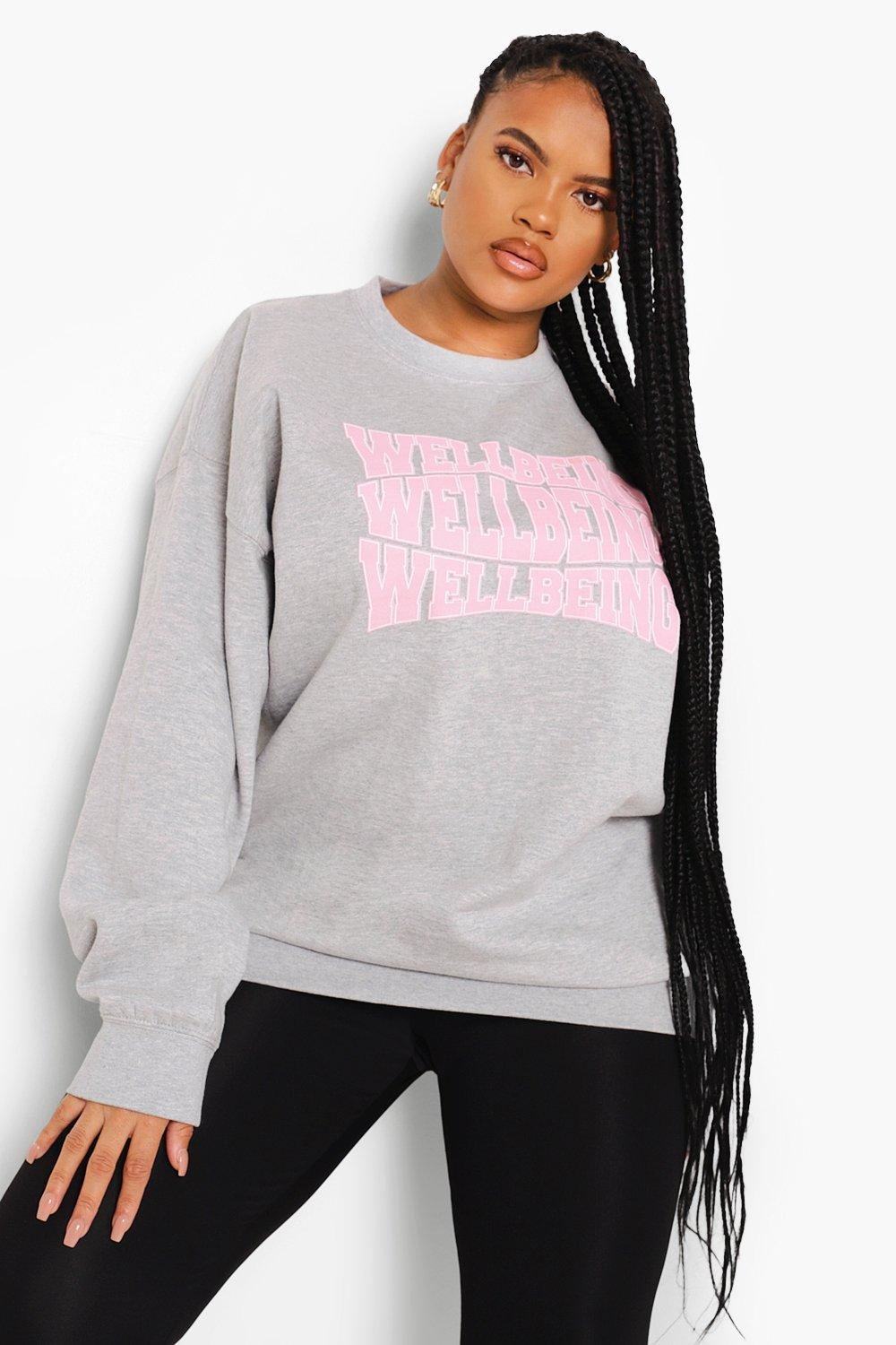 Plus Wellbeing Sweatshirt 11
