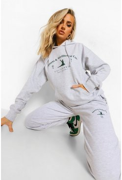 Grey marl grey Sports And Wellbeing Tracksuit