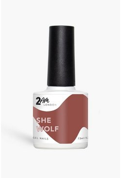 2am Gel Polish She Wolf, Red Красный
