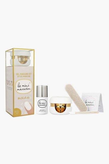 White Le Mini Macaron Milkshake - Gel Manicure Kit