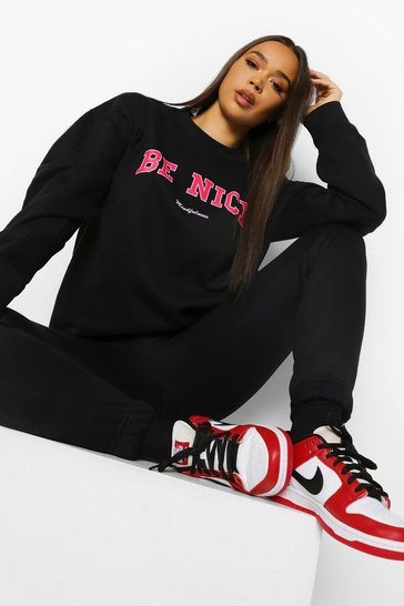 Black Be Nice Sweatshirt