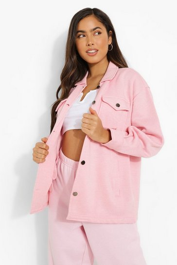 Pink Soft Touch Shacket
