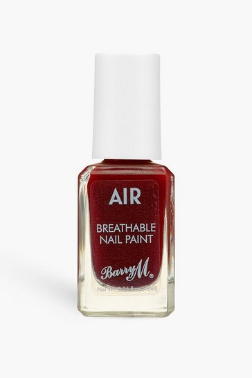 Berry red Barry M Air Breathable Nail Paint -After Dark
