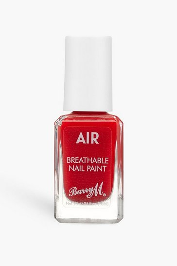Red Barry M Air Breathable Nail Paint - Scarlet