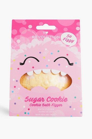 Cream white I Heart Revolution Sugar Cookie Fizzer