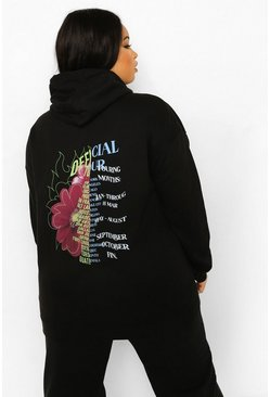 Black Plus Official Tour Back Print Hoodie