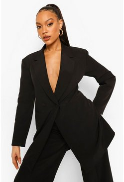 Oversized Blazer & Wide Leg Trouser Suit Set
