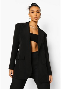 Oversized Blazer & Relaxed Fit Trouser Suit Set