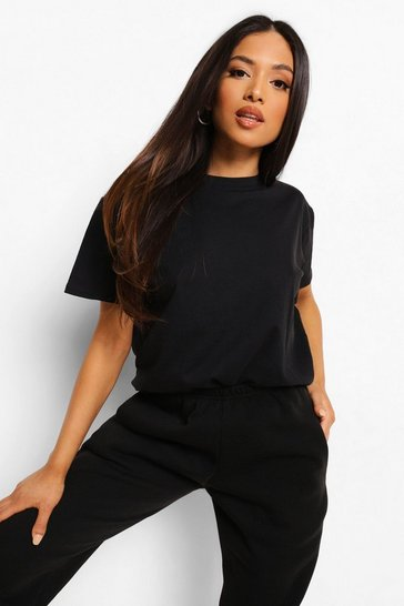Black Petite Basic T-Shirt