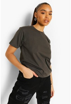 Charcoal grey Basic T-shirt