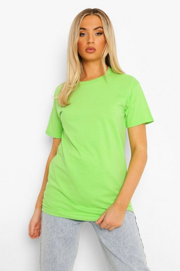 Lime green Green Basic T-Shirt