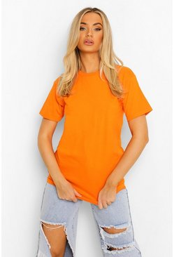 Orange Basic T-shirt