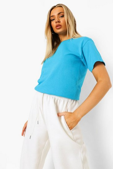 Bright blue blue Blue Basic T-Shirt