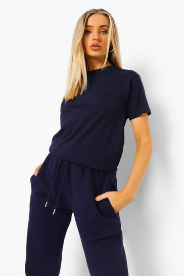 Navy Basic T-Shirt