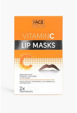 Mascarilla labial de vitamina C de Face Facts, Naranja
