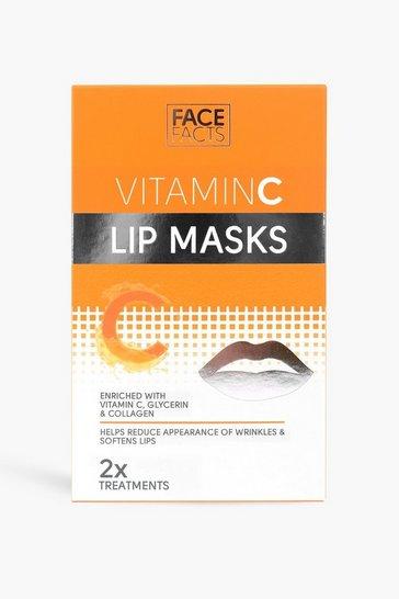 Orange Face Facts Vitamin C Lip Mask