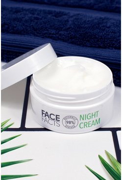 Crema notte 98% ingredienti naturali Face Facts, Verde gerde