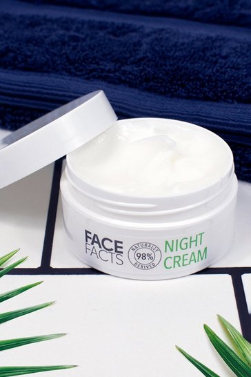 Green Face Facts 98% Natural Night Cream