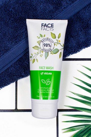 Green Face Facts 98% Natural Face Wash