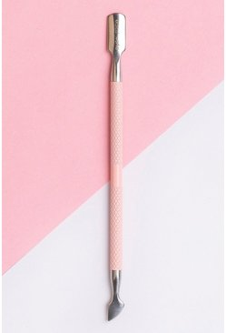 Baby pink rosa Brushworks Cuticle Pusher