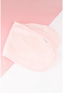 Baby pink pink Brushworks Hd Makeup Remover Cloth