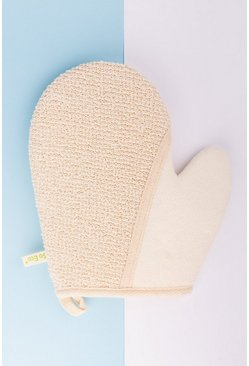 So Eco 2-1 Exfoliating Glove, White weiß