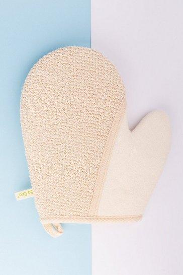 White So Eco 2-1 Exfoliating Glove