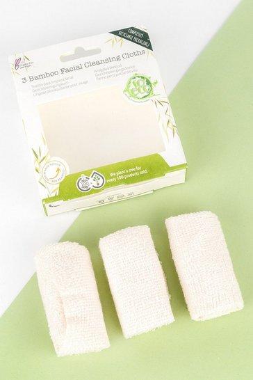 Cream white So Eco 3 Facial Cleansing Cloths