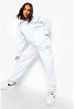 Beverly Hills Club Tracksuit, Ash grey