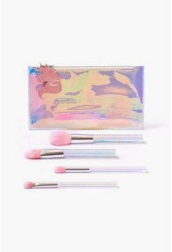 ורוד סט מברשות Unicorn Brush Set של I Heart Revolution