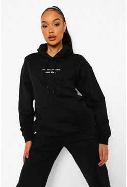 Black You Are Amazing Hoodie