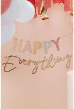 Ginger Ray Happy Everything Gold Foil Butting